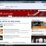 FGDP(UK) Scotland's press release made the front page of BBC's online news