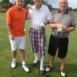 Craig Taylor and John Gibson opted NOT to wear tartan!